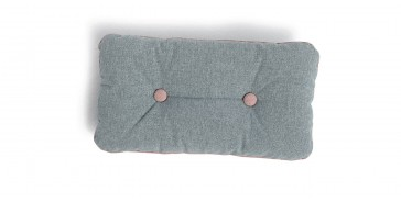 Coussin 2 boutons et passepoil